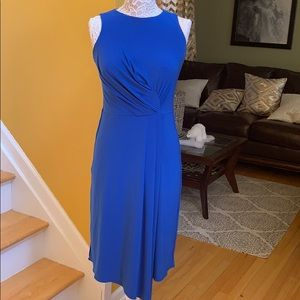 Just Taylor blue sleeveless cocktail dress size 6